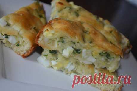 Простой заливной пирог - рецепт с фото - как приготовить - ингредиенты, состав, время приготовления - Дети Mail.ru