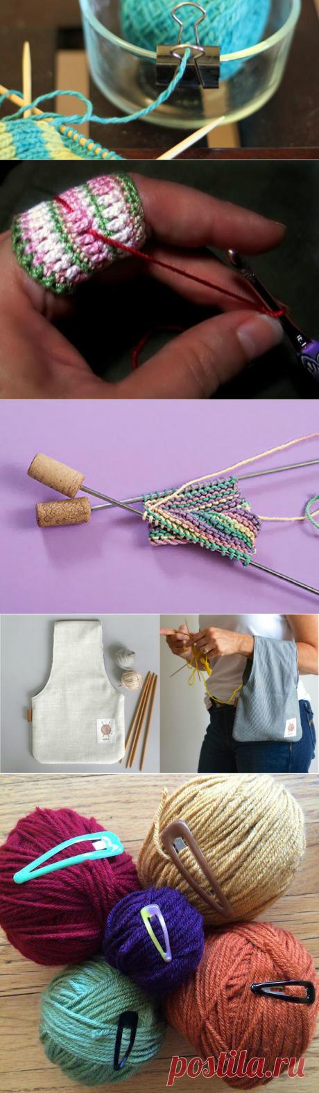 15 трюков, с которыми даже неумеха будет вязать как мастерица! Легкое вязание...