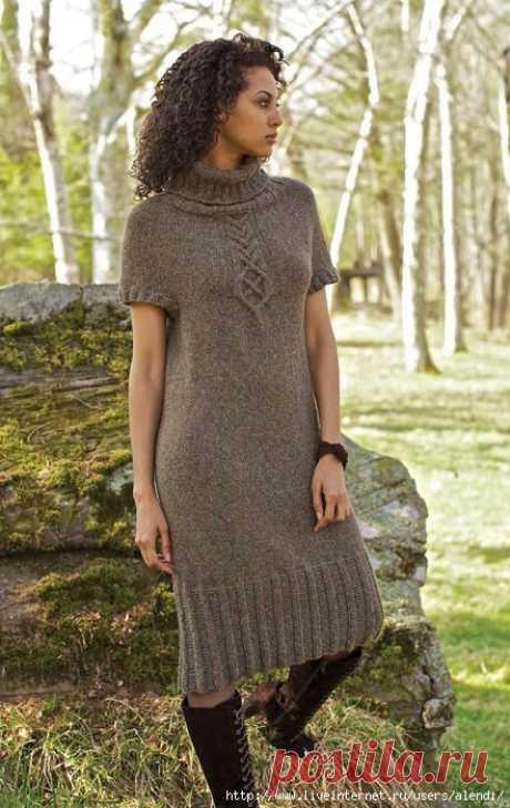 Теплое платье Akin by Norah Gaughan