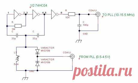 LM7001 | Dian Kurniawan's Blog ГУН, который может работать на 10МГц-15.5MHz