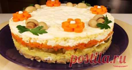 "Салат ""Шубка с грибами"" - лучший сайт кулинарии"
