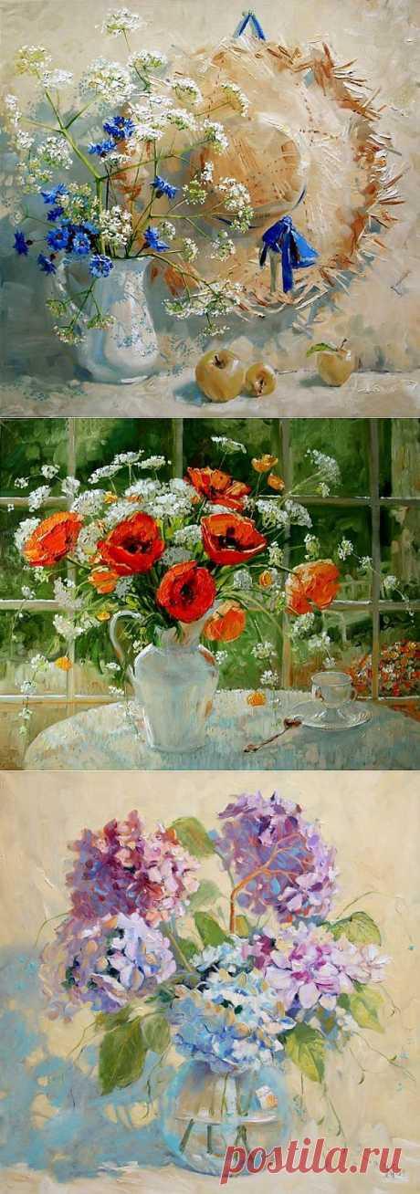 Кусочек лета в цветах Марии Павловой.
