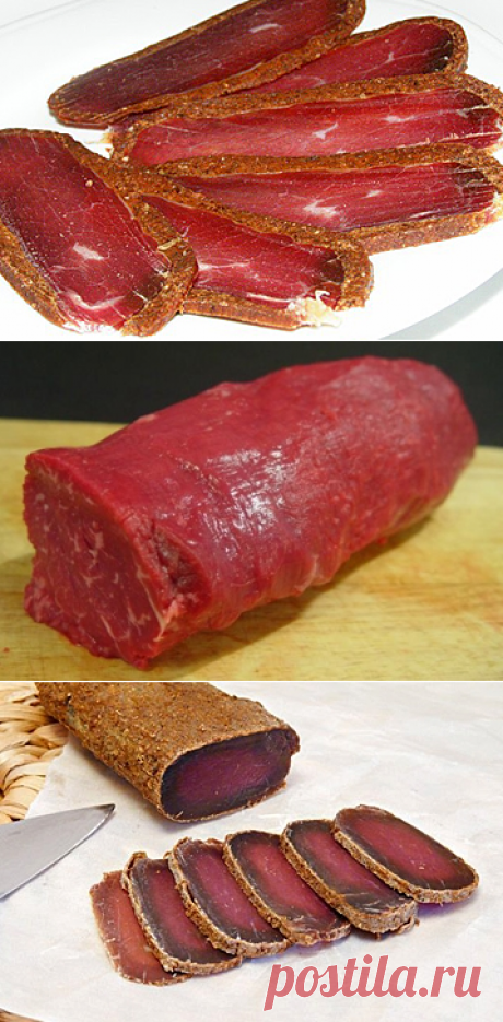 Бастурма из говядины / Заготовка мяса / TVCook: пошаговые рецепты с фото