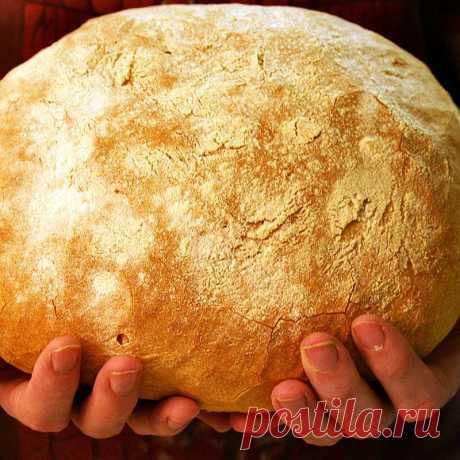 Хлеб на закваске, без дрожжей   Это интересно!