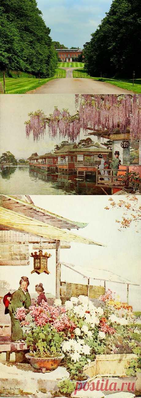 Япония в акварелях художницы Эллы Дю Кейн.