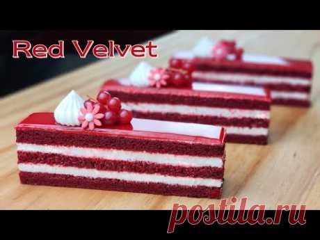 Мерная чашка / Рецепт торта Red Velvet / Глазурь из сливочного сыра / Red Velvet Cake