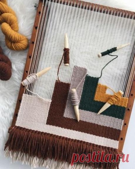 Плетение или ткачество на рамке, в домашних условиях.Примеры и идеи для воплощения!   Юлия Жданова   Яндекс Дзен