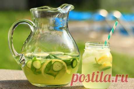 Огуречный напиток, который усилит результат любой диеты!!! — Диеты со всего света