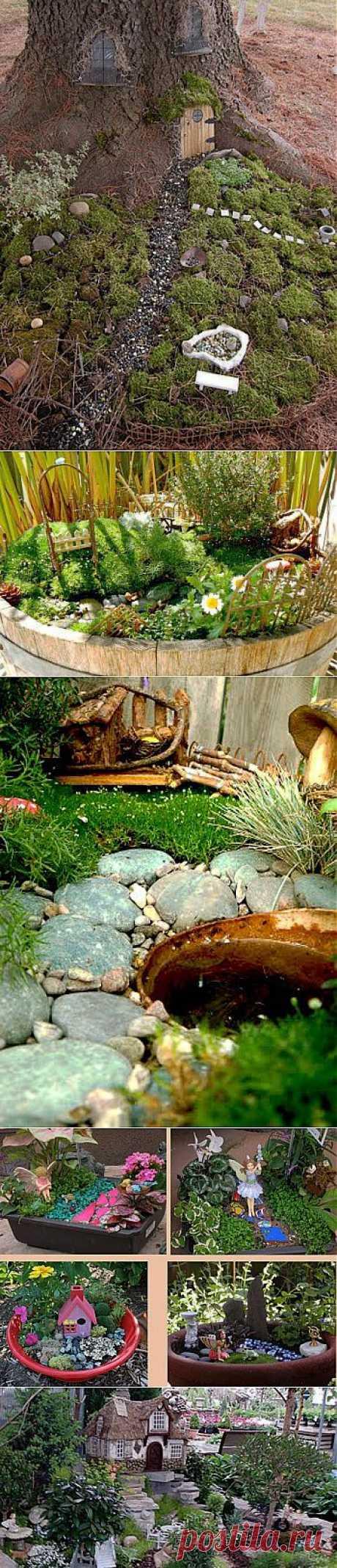 Волшебный сад.Для начала нужно выбрать место и контейнер для будущего садика. В качестве контейнера можно смело использовать разбитый цветочный горшок, старый таз, деревянный ящик. Мы можем дать «вторую» жизнь старым вещам, разукрасив их акриловыми красками или мозаикой. Расположить садик можно как на игровой площадке или на террасе, но при желании можно создать его в укромном уголке. Далее закладываются щебень или галька, а затем заполняем почвой и торфом.