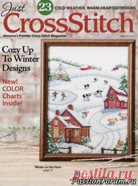 """Вышивка крестом """"Just Cross Stitch"""" - запись пользователя verav (Вера) в сообществе Вышивка в категории Вышивка крестом"""