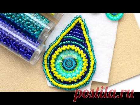 LIVE Class - Bead Embroidery with Anna and Allie