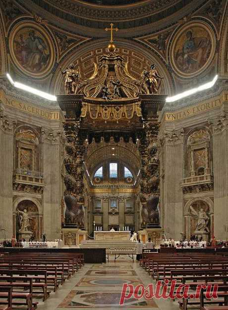 Churches and Cathedrals / St. Peter's Cathedral, Vatican… от ilvic   |  Pinterest • Всемирный каталог идей