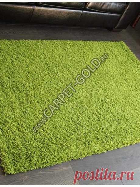 Купить ковер Shaggy Ultra -S600 - GREEN (Россия) в Санкт-Петербурге - интернет-магазин Carpet Gold