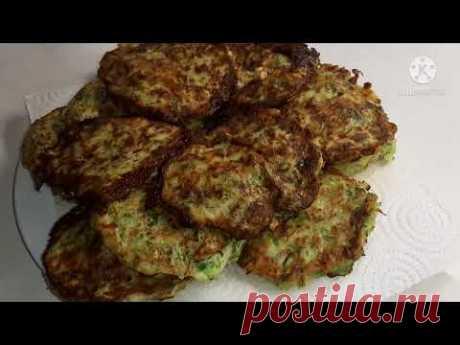 Драники с мясом и сыром из кабачков – кулинарный рецепт