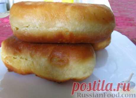 La receta: de kéfir más correcto testo para los pastelillos fritos en RussianFood.com