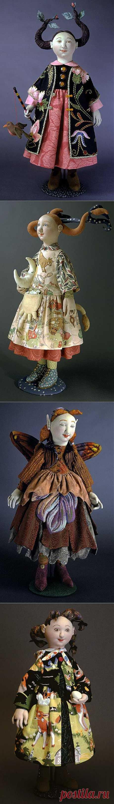 Авторские куклы Shelley Thornton