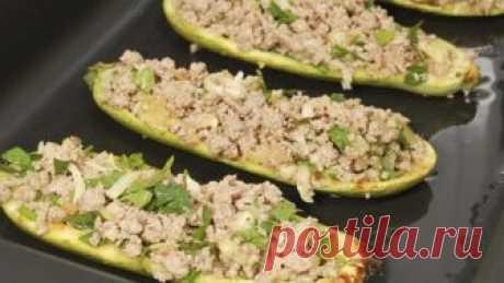 Кабачки с фаршем - самые вкусные рецепты оригинальных блюд на каждый день. Сегодня же приготовлю!