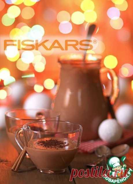 Рождественский эгг-ног с шоколадом - кулинарный рецепт