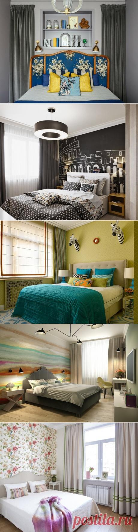 10 идей от профи, как оформить стену за изголовьем кровати | INMYROOM.RU | Яндекс Дзен
