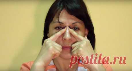 Точечный массаж при гайморите и синусите — отличное решение для тех, кто не хочет подвергать организм воздействию сильных препаратов — Сияние Жизни
