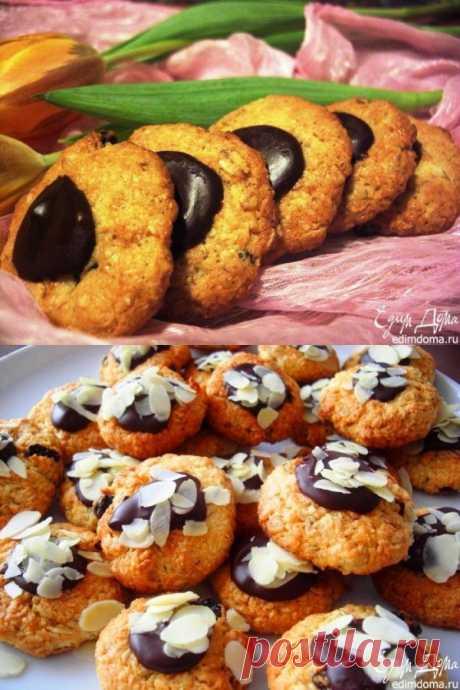 Овсяно-кокосовое печенье