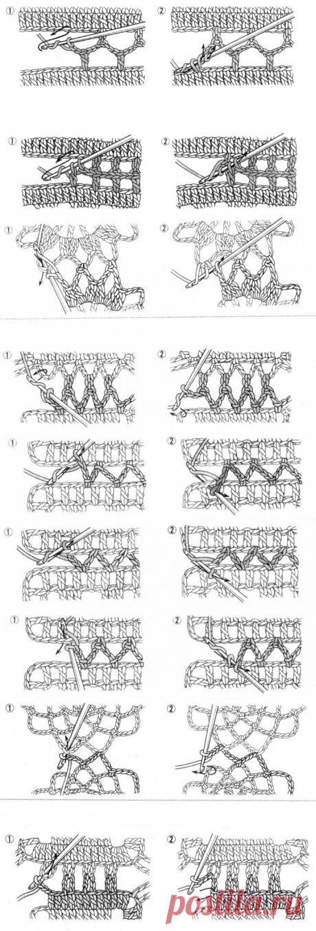 салфетки крючек | VALENTINA CERGUTSA | Простые схемы ...