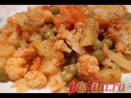Цветная капуста турецкий рецепт/как приготовить цветную капусту