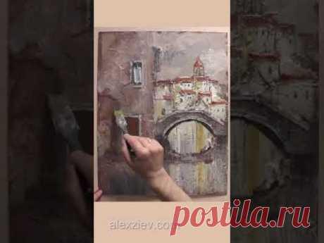 Texture painting Alex Ziev
