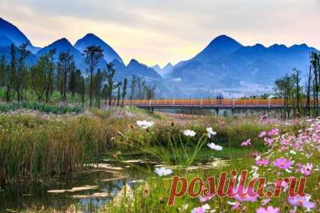 (+1) Куда податься? Живописный парк Янвэйчжоу в Китае (travel.towatch.kuda) : Рассылка : Subscribe.Ru