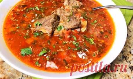 Самый вкусный грузинский суп «Харчо»: получится даже у начинающих хозяек Очень наваристый, ароматный, самый вкусный грузинский суп «Харчо». Рецепт приготовления этого супа не сложный, получится даже у новичков. Количеством риса регулируем густоту. Из того количества, что п…
