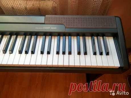 «Продается цифровое пианино Casio cdp-100. Фирменная деревянная стойка в комплекте. Пюпитр в наличии. Состояние отличное. Полностью исправно. Отличный внешний вид. Подходит для использования в музыкальной школе. Количество клавиш как на обычном фортепиан...» — карточка пользователя bakero в Яндекс.Коллекциях