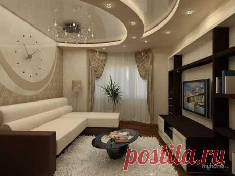 Поиск на Постиле: интерьер гостиной