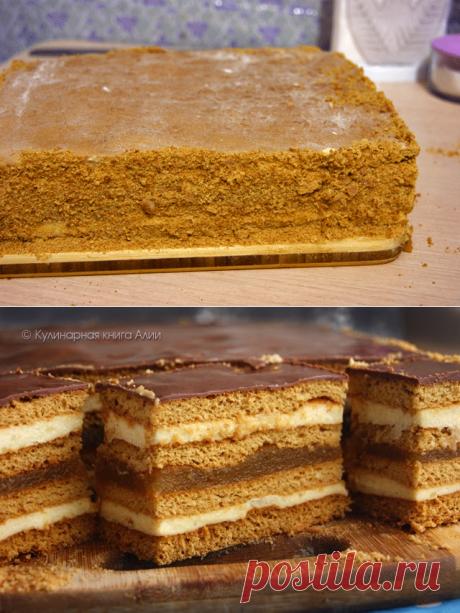 Медовое пирожное с начинкой от Алии!