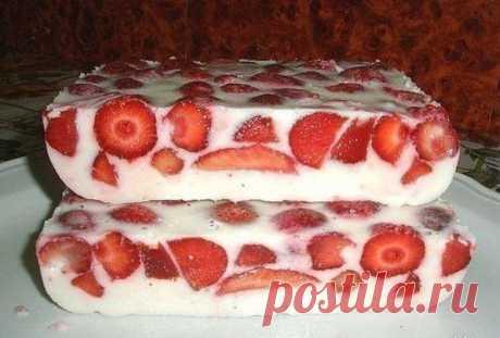 Диетический чизкейк с ягодами без грамма сахара.