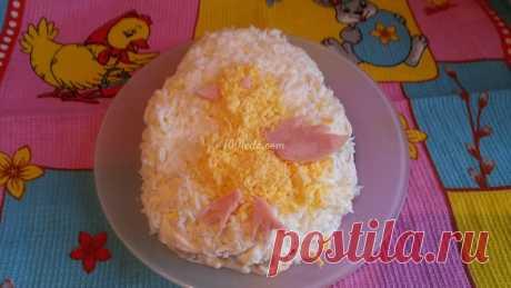 Простой салатик с ананасами на пасху: рецепт с пошаговым фото - Салаты и закуски на Пасху от 1001 ЕДА