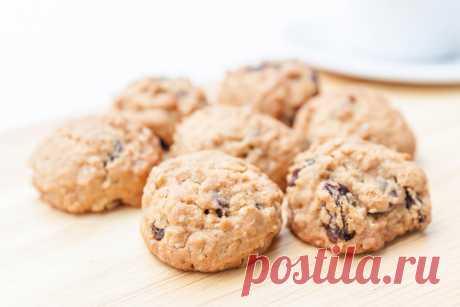 Домашнее овсяное печенье - 10 рецептов