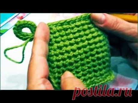 Прихватка крючком из остатков пряжи. Как связать прихватку. Crochet potholder.