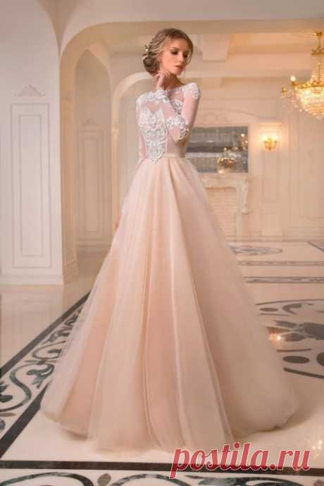 Красивые свадебные платья 2017