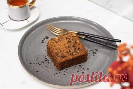 Морковный кекс с грецкими орехами рецепт – авторская кухня: выпечка и десерты. «Еда»
