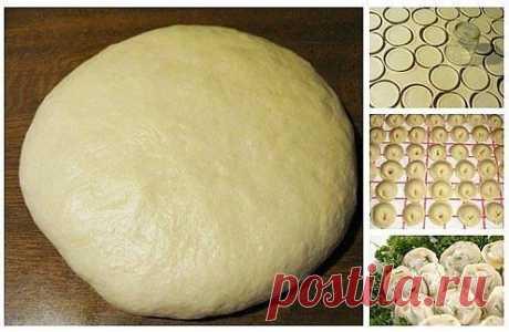 The best recipes every day :): Super dough for pelmeni and vareniki
