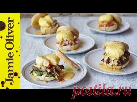 Eggs Benedict | 5 Ways | Jamie Oliver
