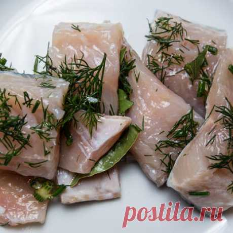 How to salt fish, or the Most favourite Russian food!