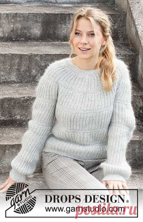 Круглая кокетка резинкой спицами на женских свитерах и джемперах – 6 моделей со схемами и описанием — Пошивчик одежды