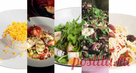 Салаты с сыром Рецепты и сочетания: с курицей и ананасами, огурцами, фасолью и другие