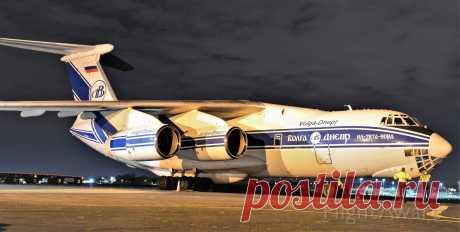Фото VDA Ilyushin Il-76 - FlightAware