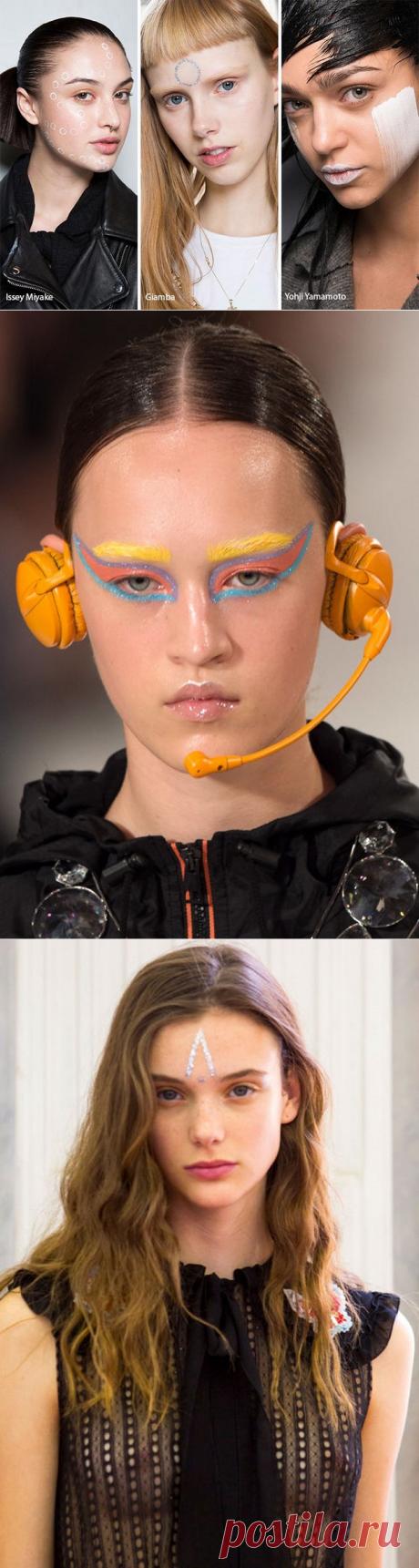 Модный макияж 2017-2018 – фейс-арт