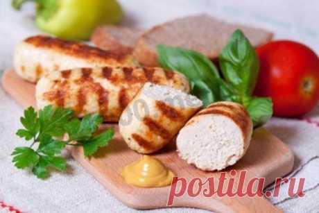 Куриные сосиски домашние в пищевой пленке рецепт с фото пошагово - 1000.menu