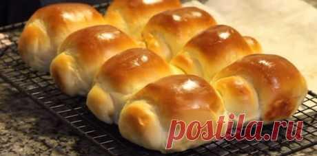 Неймовірно м'які і пухкі булочкі з Азії - «Хоккайдо» Тісто збільшується у 3 рази!