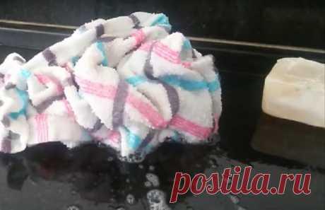 Как очистить полотенца с помощью микроволновки   Делимся советами