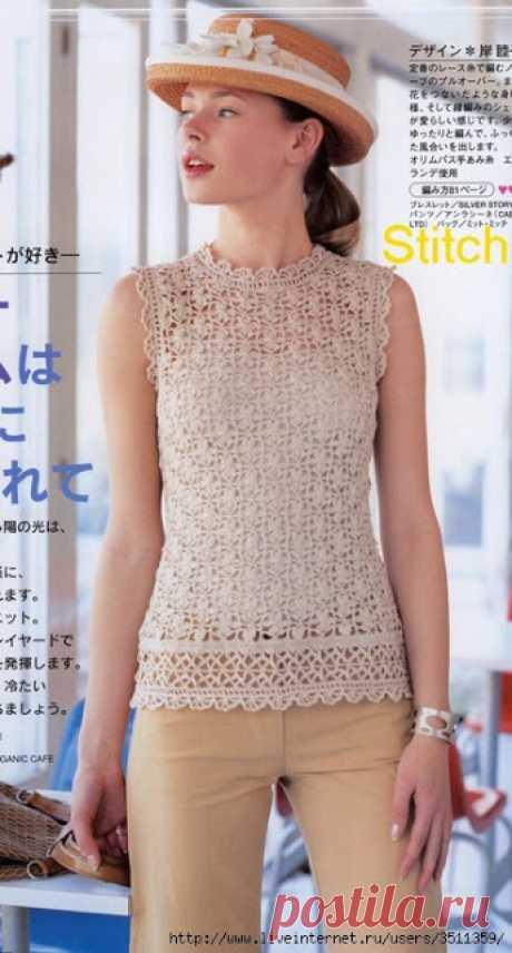 Irish crochet &: CROCHET TOP